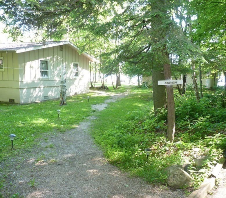 Path to the Hemlock Cottage
