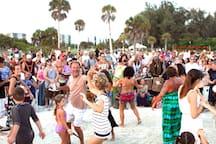 Siesta Beach Drum Circle - every Sunday evening