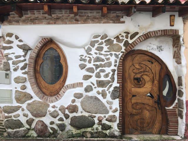 Casa rural Rustica con bicicletas