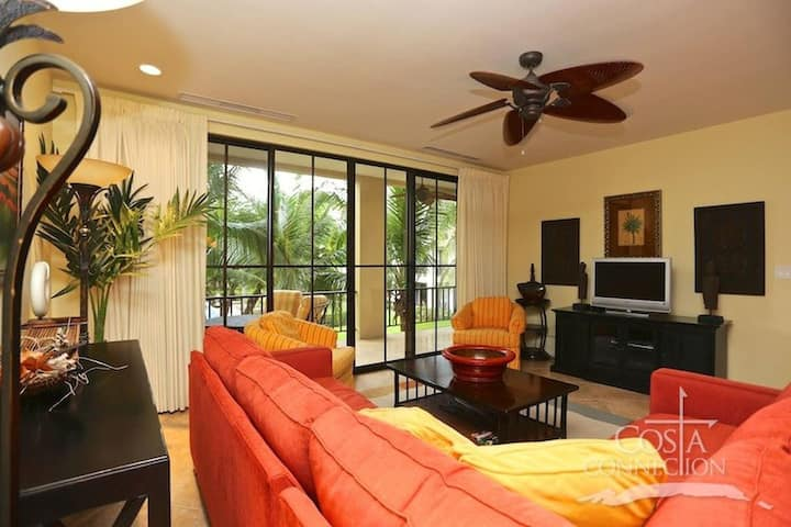 Spacious pool-view unit in Coco with bbq on the terrace
