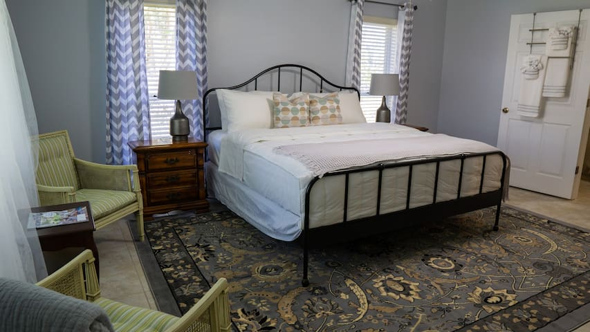 Bedroom# 3 With king size bed and a private bathroom