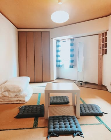 Japanese style 4-people Private Room#Osaka Center