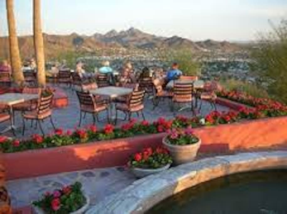 pointe at tapatio resort mountain top dinning