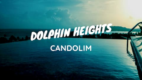 DOLPHIN HEIGHTS 5BHK Sea View Pool Villa Candolim