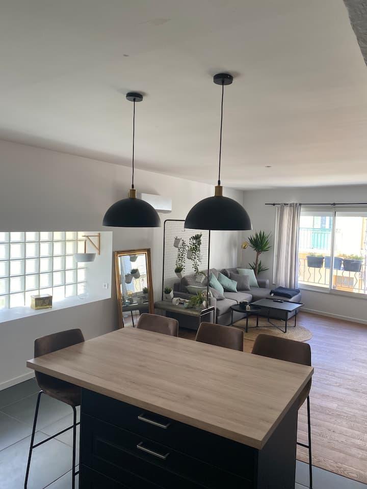 Agréable et chaleureux appartement sur PERPIGNAN