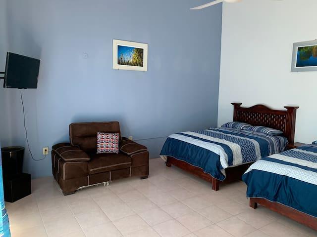 Habitación en Quinta Hidalgo limpia, ejecutiva H3