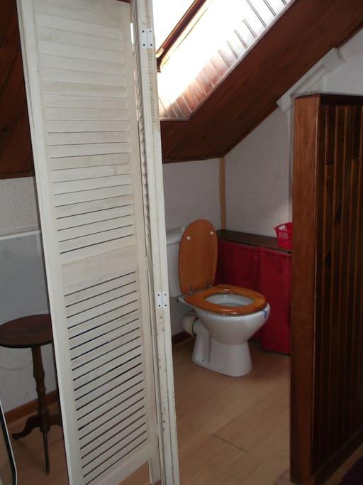 Les toilettes attenantes