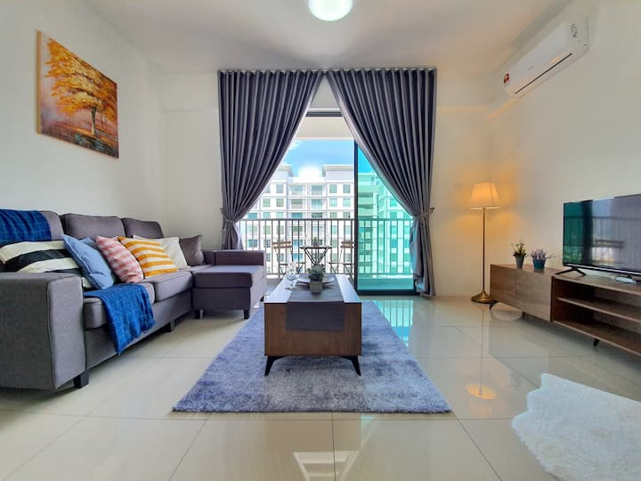 Ipoh | Meru Casa Kayangan Modern Cozy Apartment!