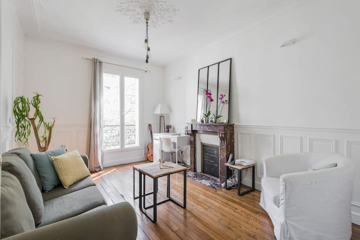 Charming 640ft² apartment by Pere Lachaise Station