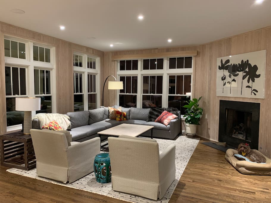 Wide open living space