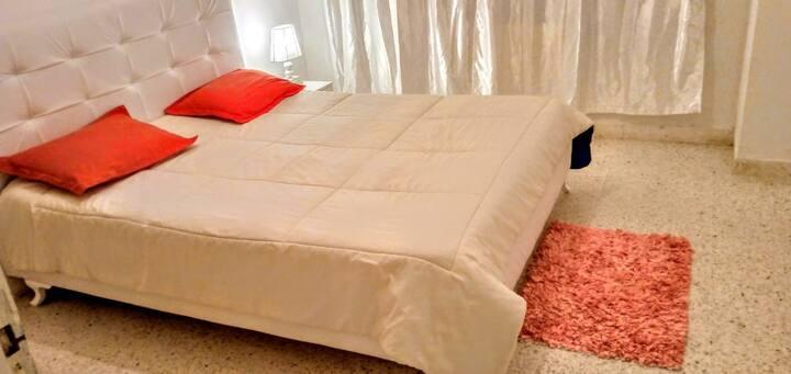 Chambre complètement meublée pour 1 ou 2 personnes
