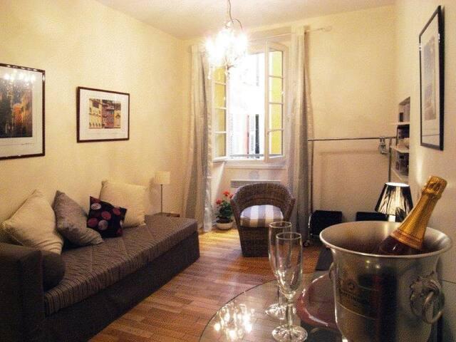 De luxe studio w/ air conditioning