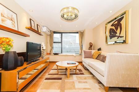 近地铁站台星级标准loft公寓 - Suzhou - Leilighet
