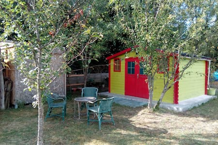 Dormir dans la cabane au fond du jardin