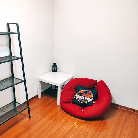 舒適小空間 Your own cozy space to chill