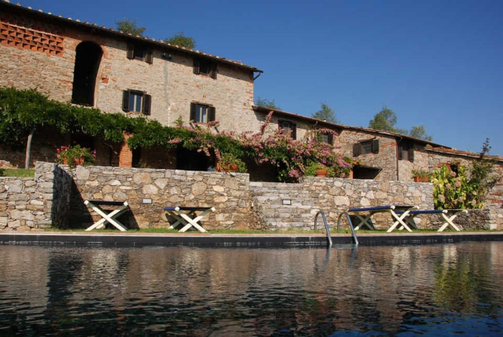 Al Seminario - the villa and the pool