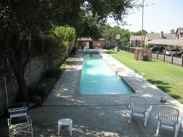 One of the pools available