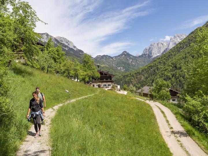 Hüttenzimmer im Kaisergebirge bei Kufstein