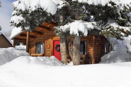 2-Bedroom Log Cabin Retreat in Clark - Clark - Stuga