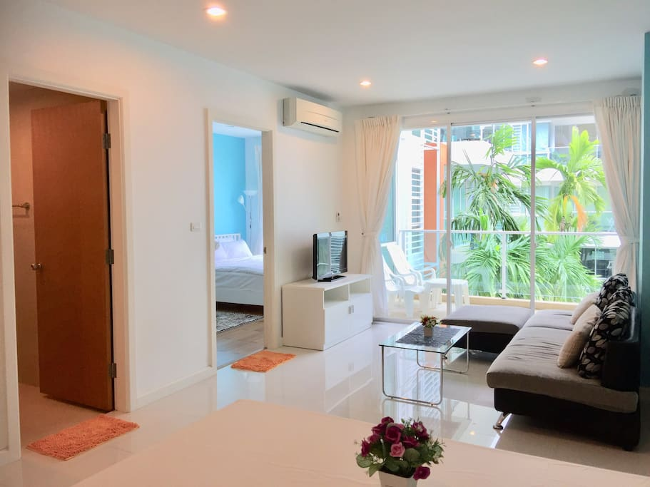 Nice and spacious 57SQM  1 bedroom 1 bathroom 1 kitchen