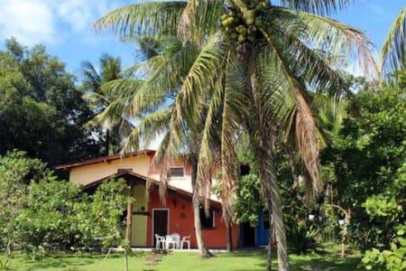 Chalé Praia Moreré (Boipeba, Bahia) - Moreré - Lomamökki