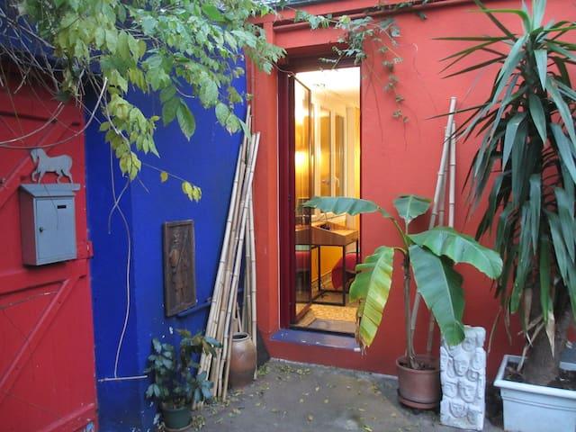 Studio indépendant sur patio