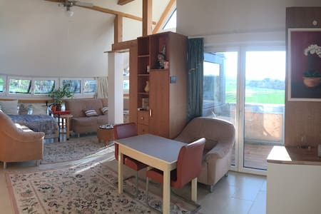 Panorama Wohnung (3-4 Zimmer-Wohnung) 2 Balkone