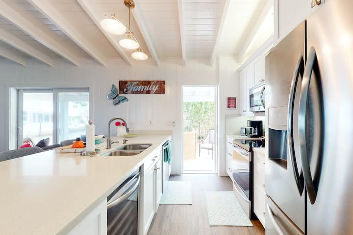 Dog-Friendly Canalside Home w/ Dock, Shaded Terrace, & Open Water Access