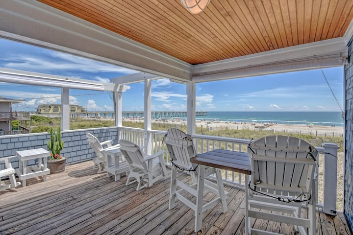 OCEANFRONT HAVEN: Sweeping Oceanfront Views, Breathtaking Sunrises!!