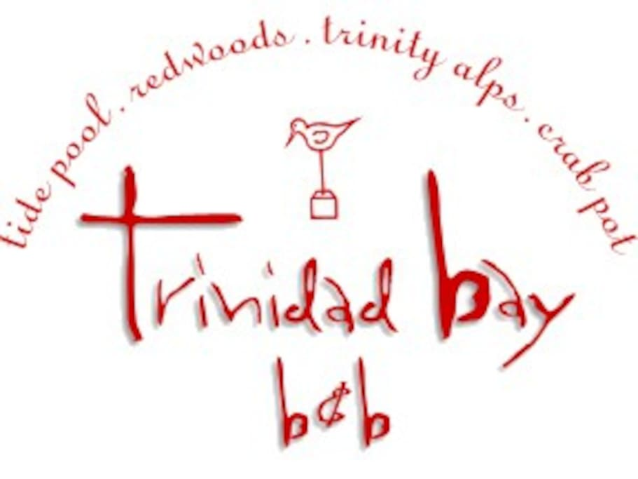 Trinidad Bay B&B Logo with room names