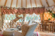 The Luxury Yurt is another Airbnb venue available on property. https://www.airbnb.com/rooms/13254891?s=67&shared_item_type=1&virality_entry_point=1&sharer_id=13885996