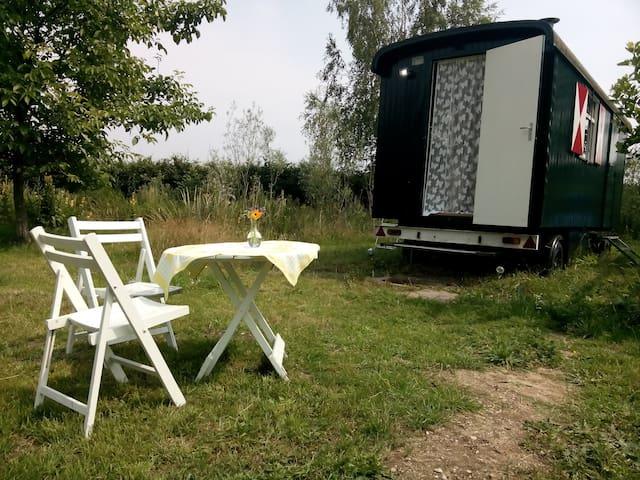 Gipsy Wagon on a idyllic place