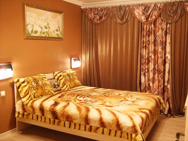 Comfortable daily rent 2-rooms apartment