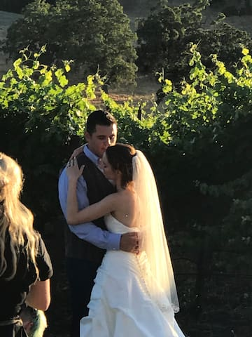 Close to The Gardens at Peacock Farms, Dana-Powers House, Cypress Ridge Pavilion, Dana Adobe, and Kaleidoscope Inn and Gardens wedding venues. Each no more that 15 minutes away.