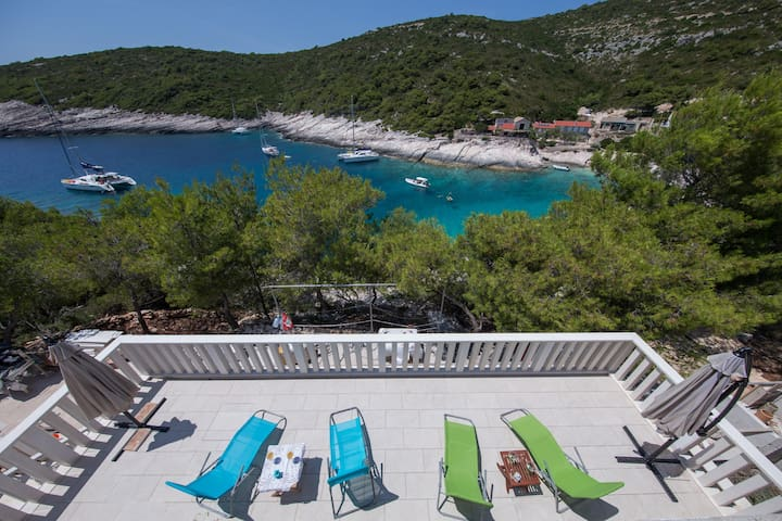 Seafront romantic vacation  - Molo Trovna - Vis - Διαμέρισμα