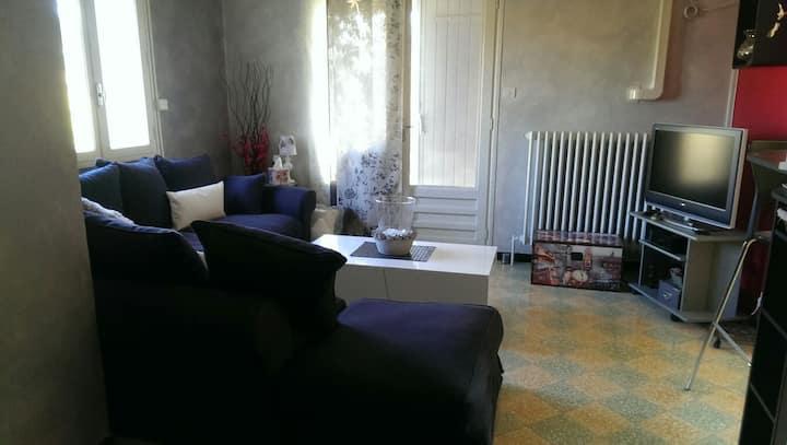 Chambre/séjour privatif avec balcon