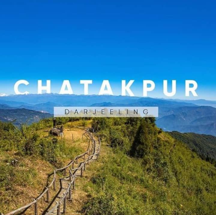 Fursat at Chatakpur w/ Kulung's 🌄🏔️🚵♂️🏞️🔭🌌