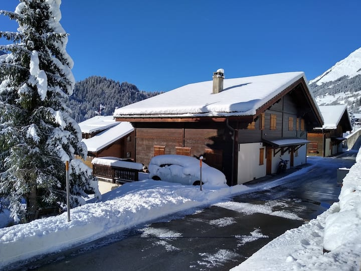 "Cozy chalet ""Les Chevrons"", authentic alpine feel"
