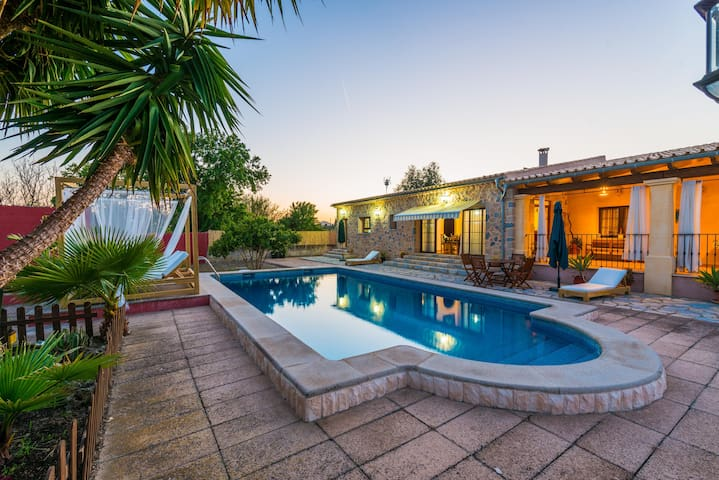 Blanquers - villa with pool - Binissalem - Huis