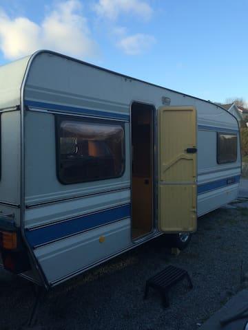 Caravan for budget travellers