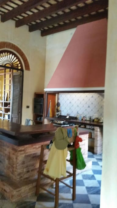 Kitchen... view from corridor