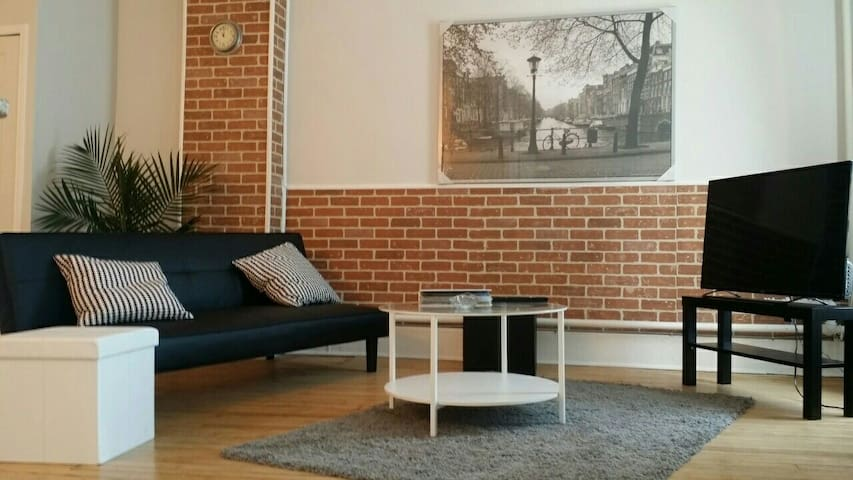 Large one bed apartment in Hamilton city center.