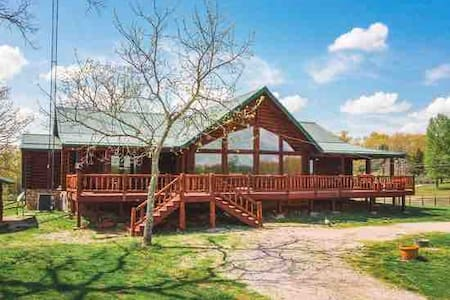 Country Log Home Paradise Ranch