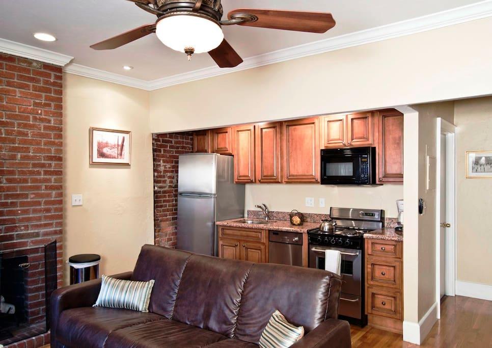 Boston Newbury One Bedroom Suite Apartments For Rent In