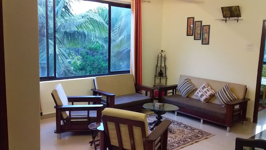 Siolim 1 Bedroom Furnished Apartment