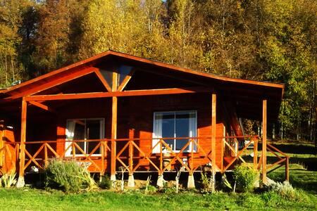 Cabaña Las Golondrinas,  entre bosques y  montañas