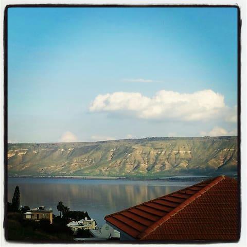 The corner of sea of Galilee