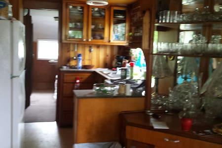 Vintage  Tiny House - mid century - Olean
