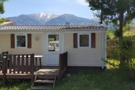 Mobilehome te huur op Camping in de Pyreneeen