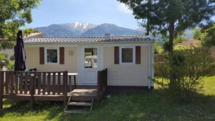 Mobilehome à louer dans les  Pyrénées Orientales